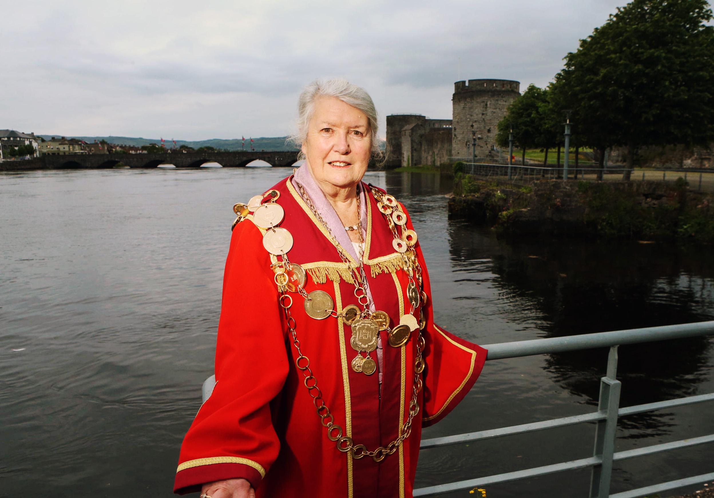 24-6-13 Cllr Kathleen Leddin 817th Mayor of Limerick