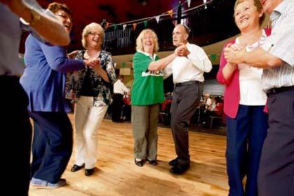 Therapeutic effects of Irish set dancing in the treatment of Parkinsons