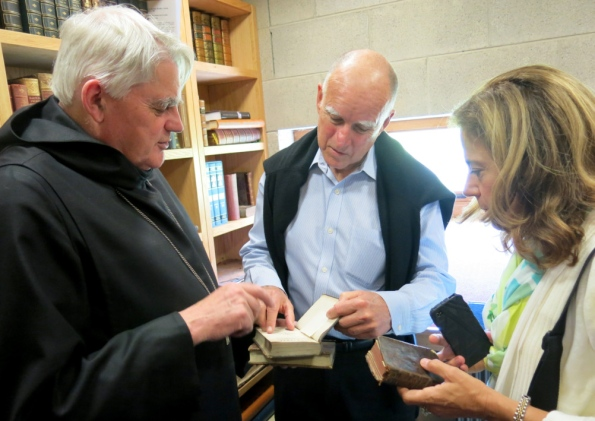 governor of california visits glenstal abbey