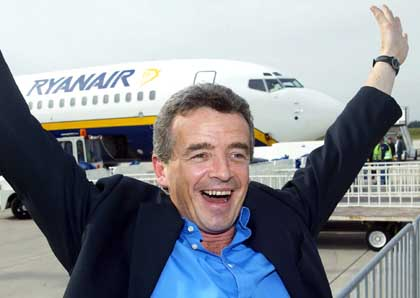 Scrapping travel tax a boost for Shannon as Ryan Air plan to grow traffic from Irish Airports