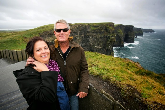 Cliffs of Moher One Millionth visitor