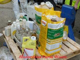 Hazardous waste disposal opportunity for Limerick farmers