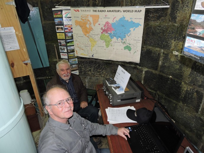 Limerick Radio Club han radio event loop head