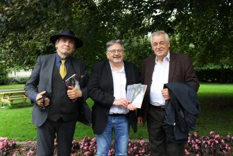 Launch Video of 'Arias of Consolation' John Liddy's Book length Poem About Limerick.