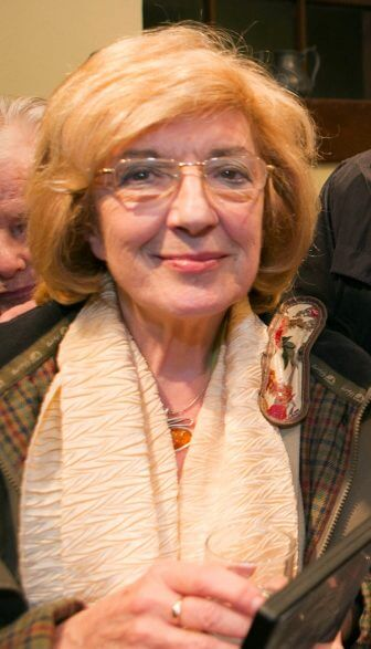 Loss of Arts and Culture Champion Bertha McCullagh.