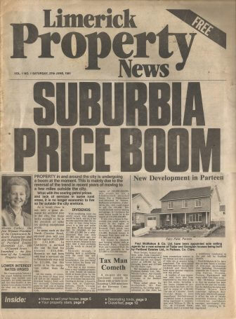 Limerick First Edition Publications No.7 'Limerick Property News'