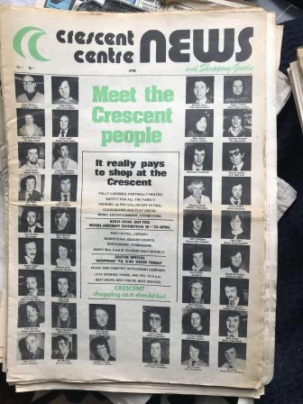 "First Edition Limerick Publications No. 9 ""Crescent Centre News"" 1978"