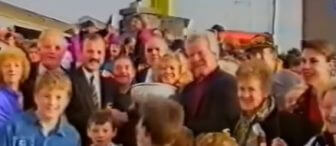Young Munster homecoming Celebration 1993