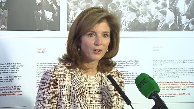 Caroline Kennedy on visit to ancestral home town of Bruff, Co Limerick