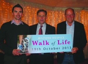 Huge Turnout For 'Walk of Life' Launch in Adare