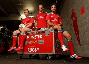 Munster Rugby announce new playing kit for new season