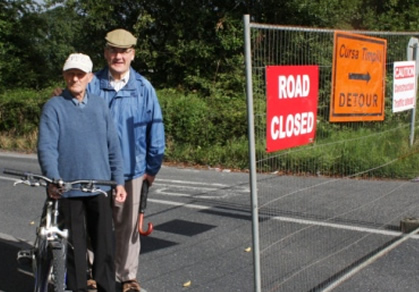 Parteen residents block road in row with council