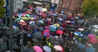 More than 3,000 protest in Limerick against water charges