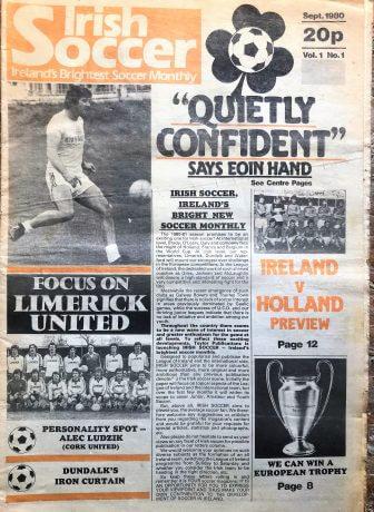 First Edition Limerick Publications: Irish Soccer, Sept 1980