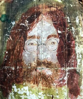 A late 1960s Painting of John Lennon by Joe Taylor