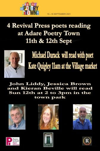Local Poets to Read at Adare Poetry Town