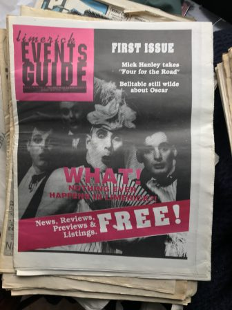 First Edition Limerick Publications No.6 'Limerick Events Guide 1994