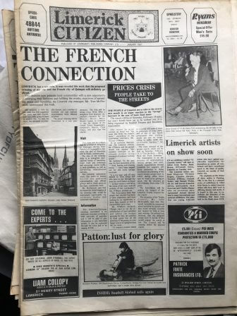 First Edition Limerick Publications No. 5 'Limerick Citizen' 1981